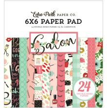 Echo Park Double-Sided Paper Pad 6X6 - Salon