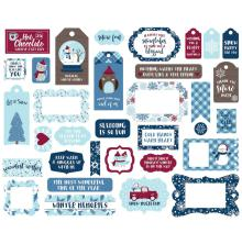 Echo Park My Favorite Winter Cardstock Die-Cuts - Frames & Tags