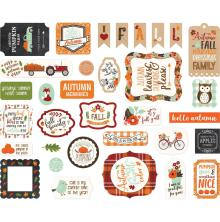 Echo Park My Favorite Fall Cardstock Die-Cuts - Ephemera