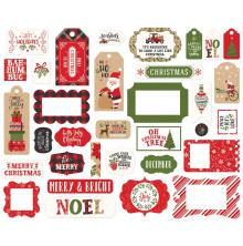 Echo Park My Favorite Christmas Cardstock Die-Cuts - Frames & Tags