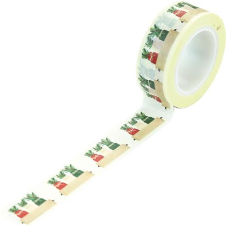 Echo Park A Cozy Christmas Decorative Tape - Holiday Jars