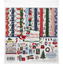 Carta Bella Collection Kit 12X12 - Merry Christmas