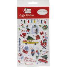 Carta Bella Puffy Stickers - Merry Christmas