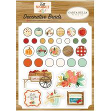 Carta Bella Decorative Brads - Fall market