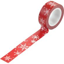 Carta Bella Christmas Market Decorative Tape - Snow Flurries