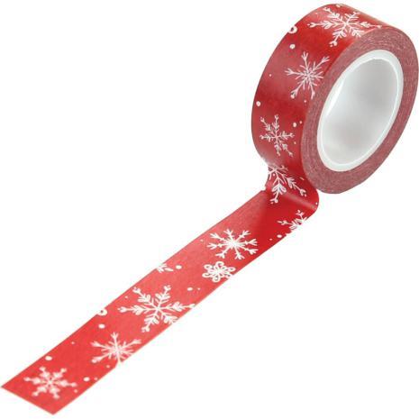 Carta Bella Christmas Market Decorative Tape - Snow Flurries