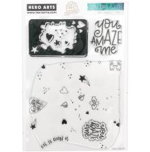 Concord & 9th - Hero Arts Clear Stamps 6X8 - Props Turnabout