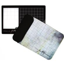 Tim Holtz Travel Glass Media Mat - Left-Handed  2632E