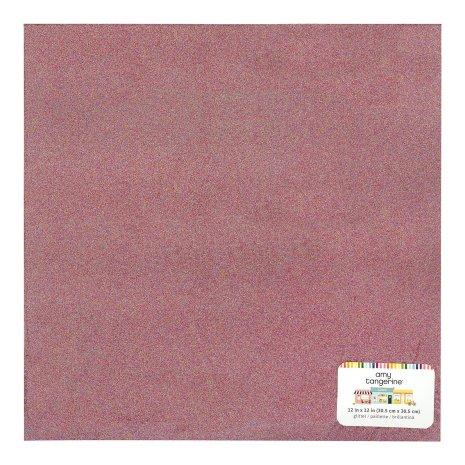 Amy Tangerine Specialty paper 12X12 - Multi Colored Glitter