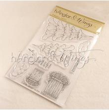 hÄnglar & Wings Clear Stamps - hÄnglagranar