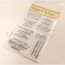 hÄnglar & Wings Clear Stamps - Insidespepp