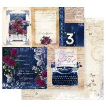 Prima Darcelle Double-Sided Cardstock 12X12 - Plot Twist