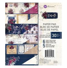 Prima Double-Sided Paper Pad 6X6 30/Pkg - Darcelle