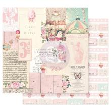 Prima Dulce Double-Sided Cardstock 12X12 - Divina