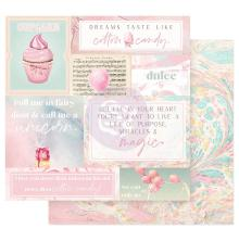 Prima Dulce Double-Sided Cardstock 12X12 - Fairy Dust