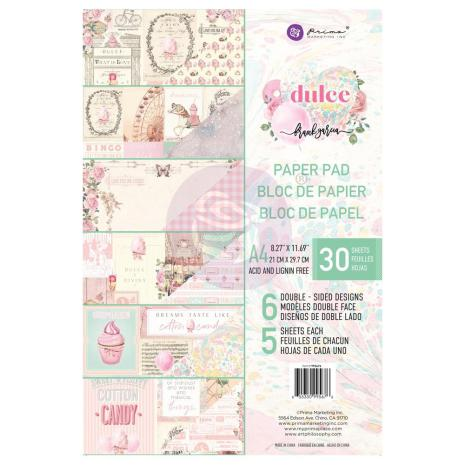 Prima Double-Sided Paper Pad A4 30/Pkg -  Dulce
