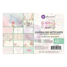 Prima Journaling Cards 4X6 45/Pkg - Dulce