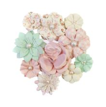 Prima Dulce Mulberry Paper Flowers 10/Pkg - Cupcakes
