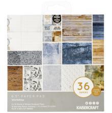 Kaisercraft Paper Pad 6.5X6.5 40/Pkg - Workshop