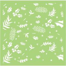 Kaisercraft Designer Template 6X6 - Festive Foliage