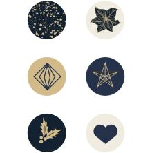 Kaisercraft Curios 6/Pkg - Starry Night