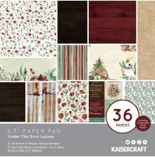 Kaisercraft Paper Pad 6.5X6.5 40/Pkg - Under The Gum Leaves