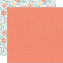 Kaisercraft Crafternoon Double-Sided Cardstock 12X12 - Back Stitch