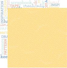 Kaisercraft Crafternoon Double-Sided Cardstock 12X12 - Crafty