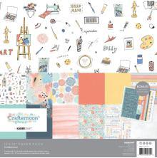 Kaisercraft Paper Pack 12X12 12/Pkg - Crafternoon