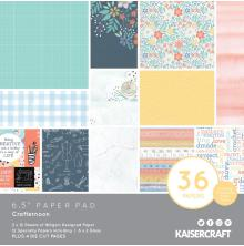Kaisercraft Paper Pad 6.5X6.5 40/Pkg - Crafternoon