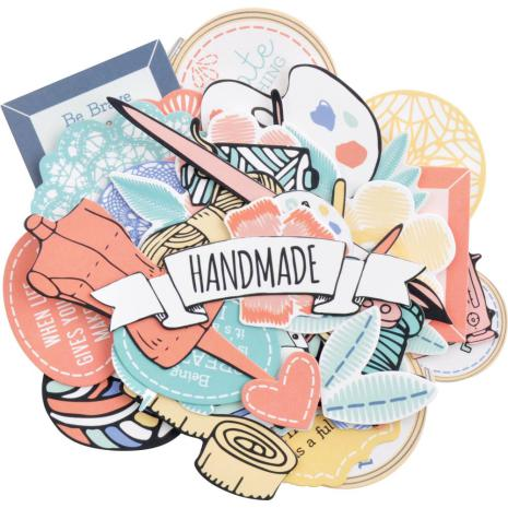 Kaisercraft Collectables Cardstock Die-Cuts - Crafternoon