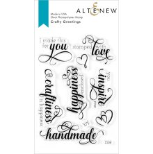 Altenew Clear Stamps 4X6 - Crafty Greetings