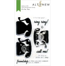 Altenew Clear Stamps 4X6 - It´s for You