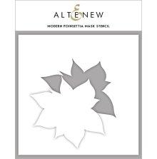 Altenew Stencil 6X6 - Modern Poinsettia