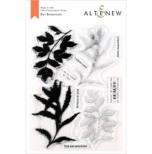 Altenew Clear Stamps 6X8 - Dot Botanicals