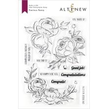 Altenew Clear Stamps 6X8 - Precious Peony