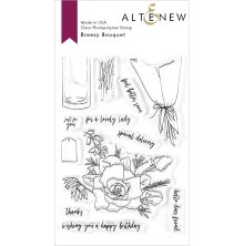 Altenew Clear Stamps 4X6 - Breezy Bouquet