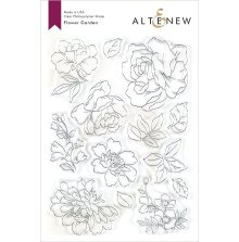 Altenew Clear Stamps 6X8 - Flower Garden