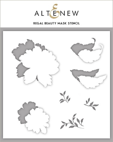 Altenew Stencil 6X6 - Regal Beauty