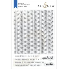 Altenew Clear Stamps 6X8 - Faceted Stars