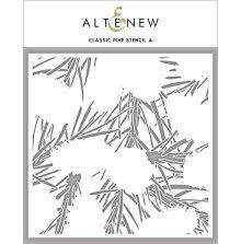 Altenew Stencil 6X6 - Classic Pine Stencil A