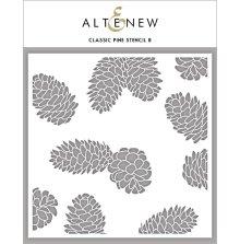 Altenew Stencil 6X6 - Classic Pine Stencil B