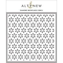 Altenew Stencil 6X6 - Diamond Snowflakes