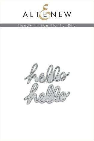 Altenew Die Set - Handwritten Hello