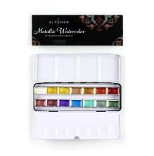 Altenew Watercolor 14 Pan Set - Metallic