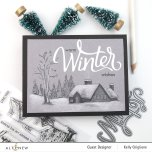 Altenew Clear Stamps 4X6 - Winter Wishes