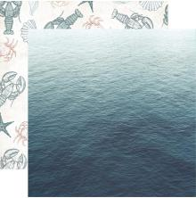 Kaisercraft Uncharted Waters Double-Sided Cardstock 12X12 - Oceanic