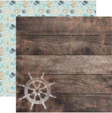 Kaisercraft Uncharted Waters Double-Sided Cardstock 12X12 - Tide Pool