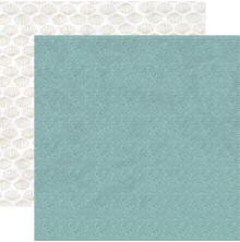 Kaisercraft Uncharted Waters Double-Sided Cardstock 12X12 - Droplet