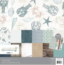 Kaisercraft Paper Pack 12X12 12/Pkg - Uncharted Waters